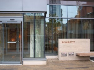 Charlie Condos at 8 Charlotte Entrance