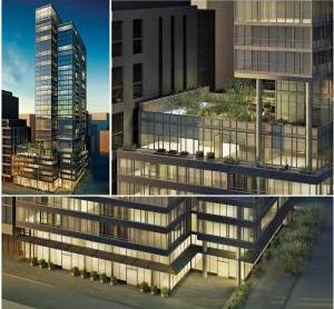 Charlie Condos at 8 Charlotte St Toronto Building